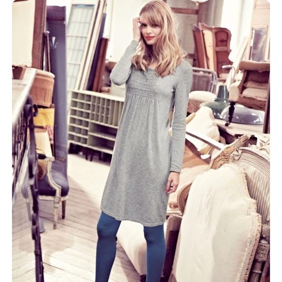 943c125ef9d8f Boden Dresses   Skirts - Anthropologie Boden Smocked Tunic Dress Grey ...